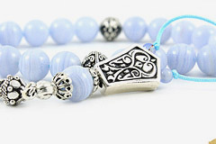 Blue Chalcedony Worry Beads