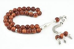 Madagascar Rosewood Prayer Beads
