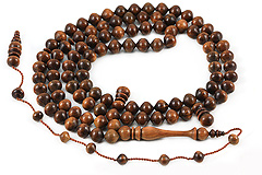 Guayacan Tree Prayer Beads (99 Beads)