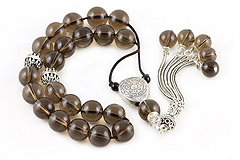 Smokey Quartz Worry Beads
