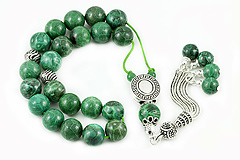Green Coral Worry Beads