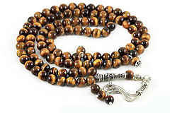 Tiger's Eye Prayer Beads (99 Beads)