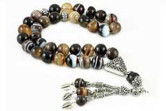 Botswana Agate Prayer Beads