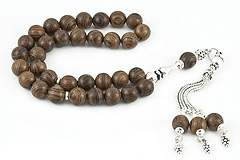 African Sandalwood Prayer Beads